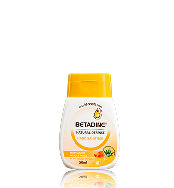 BETADINE Natural Defense Hand Sanitizer