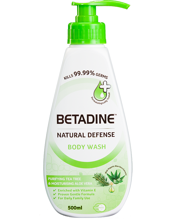 BETADINE® Natural Defense Purifying Tea Tree Body Wash 500ml