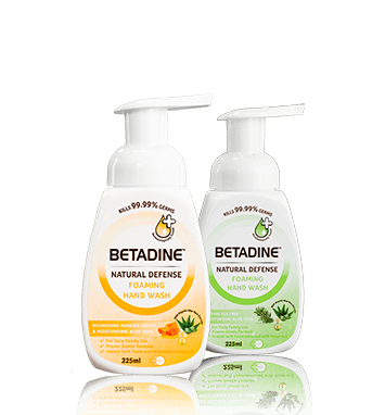 BETADINE Natural Defense Hand Wash